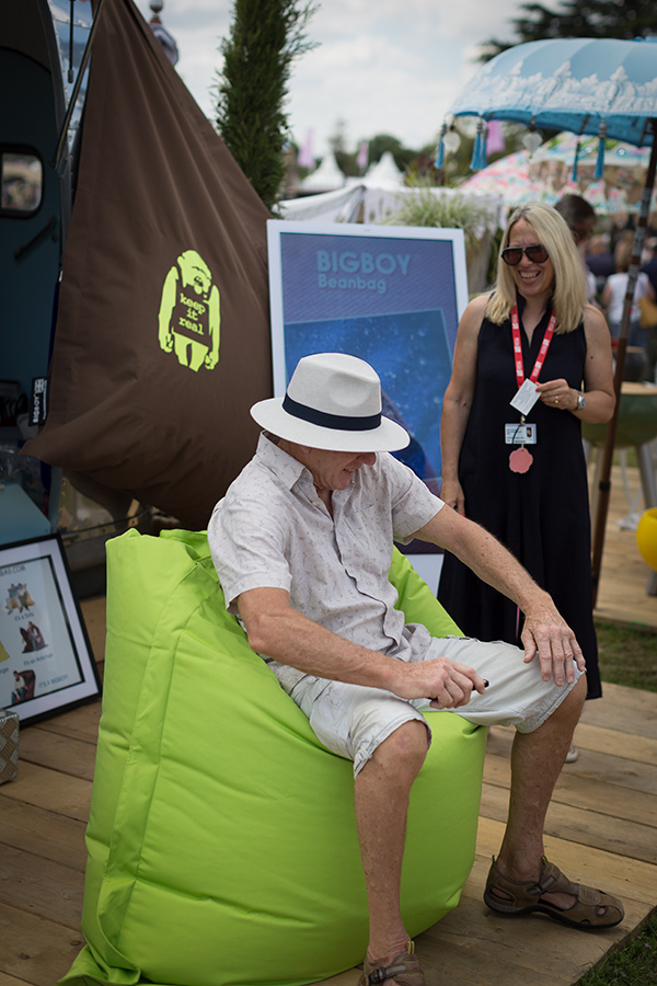 Enjoyable Bigboy Beanbag Company At Rhs The Ark Creative Marketing Unemploymentrelief Wooden Chair Designs For Living Room Unemploymentrelieforg
